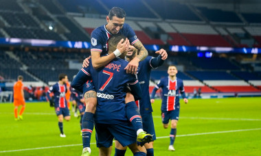 "Match Ligue 1 Uber Eats ""PSG - Montpellier (4-0)"" au Parc des Princes ŕ Paris"