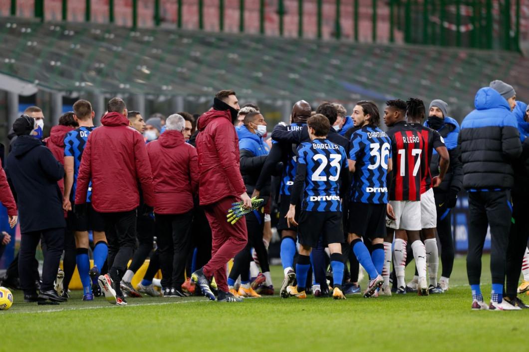 FC Internazionale vs AC Milan, Italian football Coppa Italia match, Italy - 26 Jan 2021