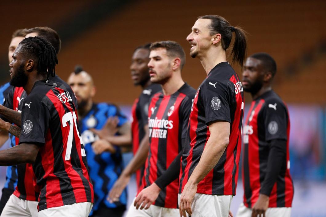 Italian football Coppa Italia match - FC Internazionale vs AC Milan, milan, Italy