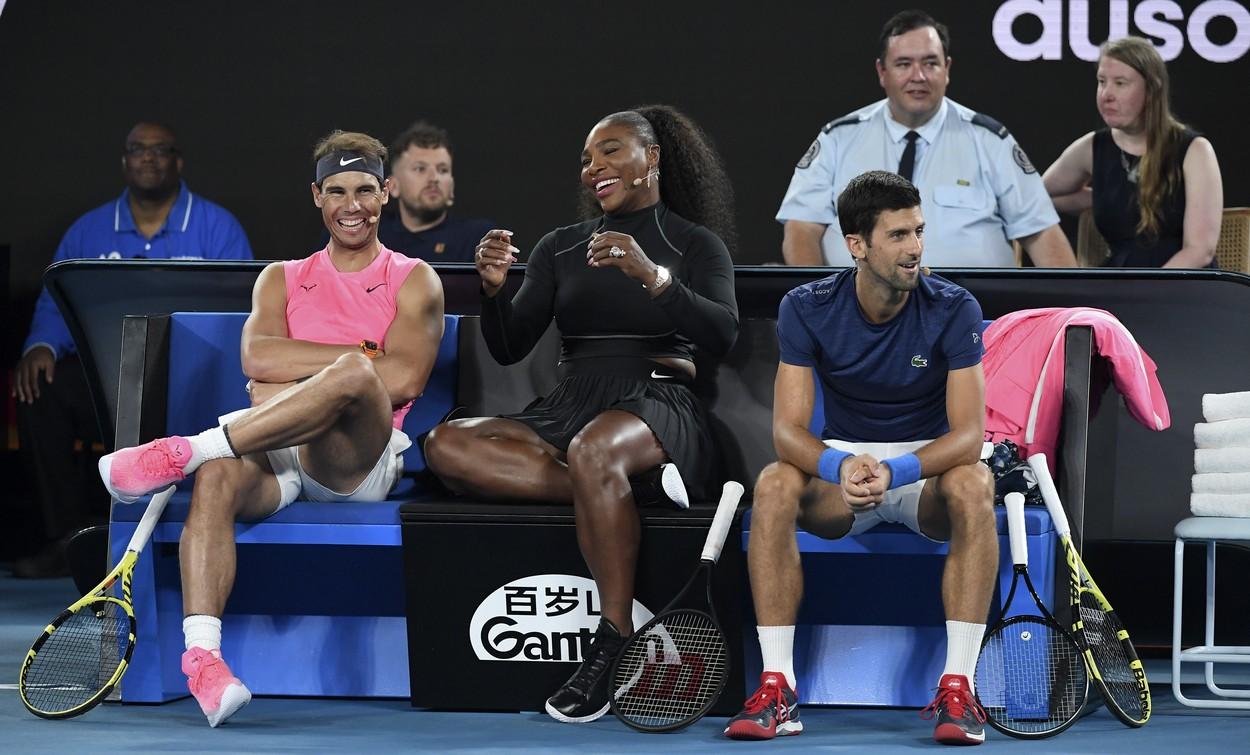 Rafael Nadal şi Serena Williams vs. Novak Djokovic. Două dintre cele mai puternice voci din tenis reacţionează