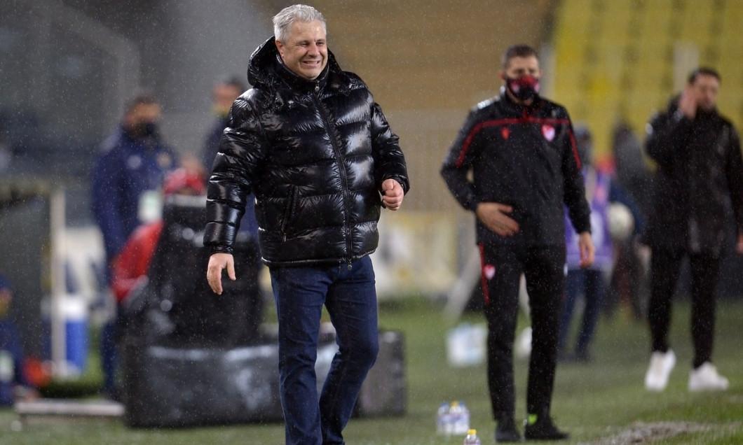 Turkish Super League football match between Fenerbahce and Caykur Rizespor at Ulker Stadium in Istanbul , Turkey onJanuary 30 , 2021.