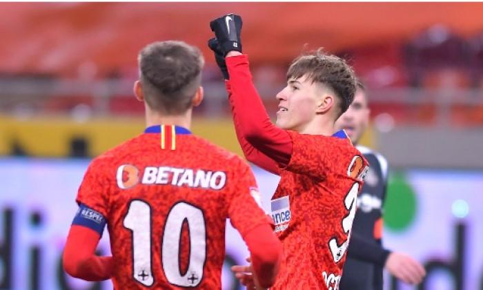 Octavian Popescu, după golul marcat în FCSB - Poli Iași / Foto: Sport Pictures