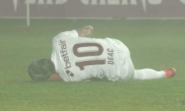 Ciprian Deac s-a accidentat în meciul cu Chindia / Foto: Captură Digi Sport