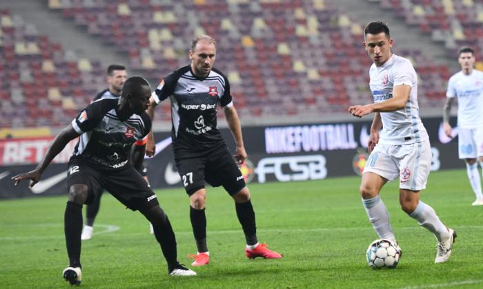 Olimpiu Moruțan, în meciul FCSB - Hermannstadt / Foto: Sport Pictures