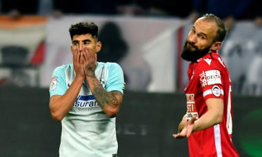 Ante Puljic și Florinel Coman, într-un meci Dinamo - FCSB / Foto: Sport Pictures