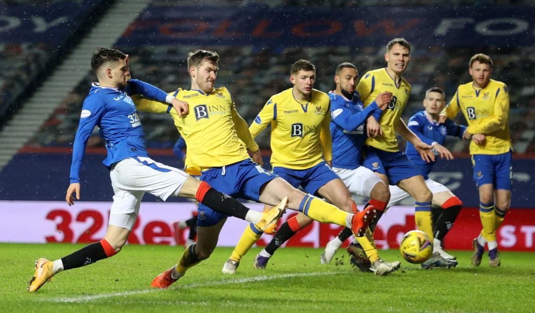 Rangers v St. Johnstone - Scottish Premiership - Ibrox Stadium