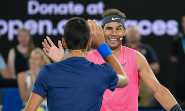 Tennis Rally for Relief charity night, Melbourne, USA - 15 Jan 2020