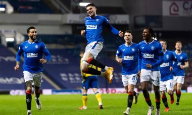 Ianis Hagi, după golul marcat pentru Rangers în victoria cu St. Johnstone / Foto: Profimedia