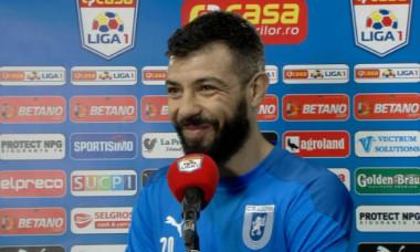 Marius Constantin, la interviul acordat după Craiova - Dinamo / Foto: Captură Digi Sport