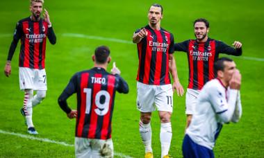 Italian football, Serie A match, AC Milan vs Crotone FC, Milan, Italy - 07 Feb 2021
