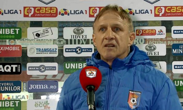 Emil Săndoi, antrenorul Chindiei / Foto: Captură Digi Sport