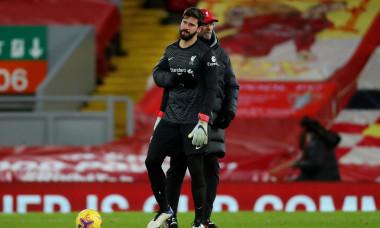Liverpool v Burnley, Premier League, Football, Anfield, Liverpool, UK - 21 Jan 2021