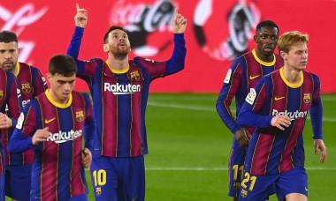 Real Betis v FC Barcelona, LaLiga Santander, date 22. Football, Benito Villamarin Stadium, Sevilla, Spain - 7 FEB 2021