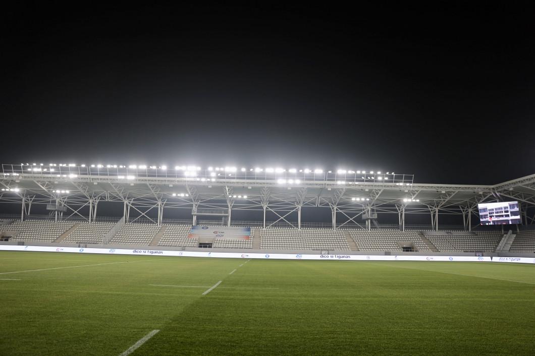 RUGBY:RECEPTIE STADION ARCUL DE TRIUMF (4.12.2020)