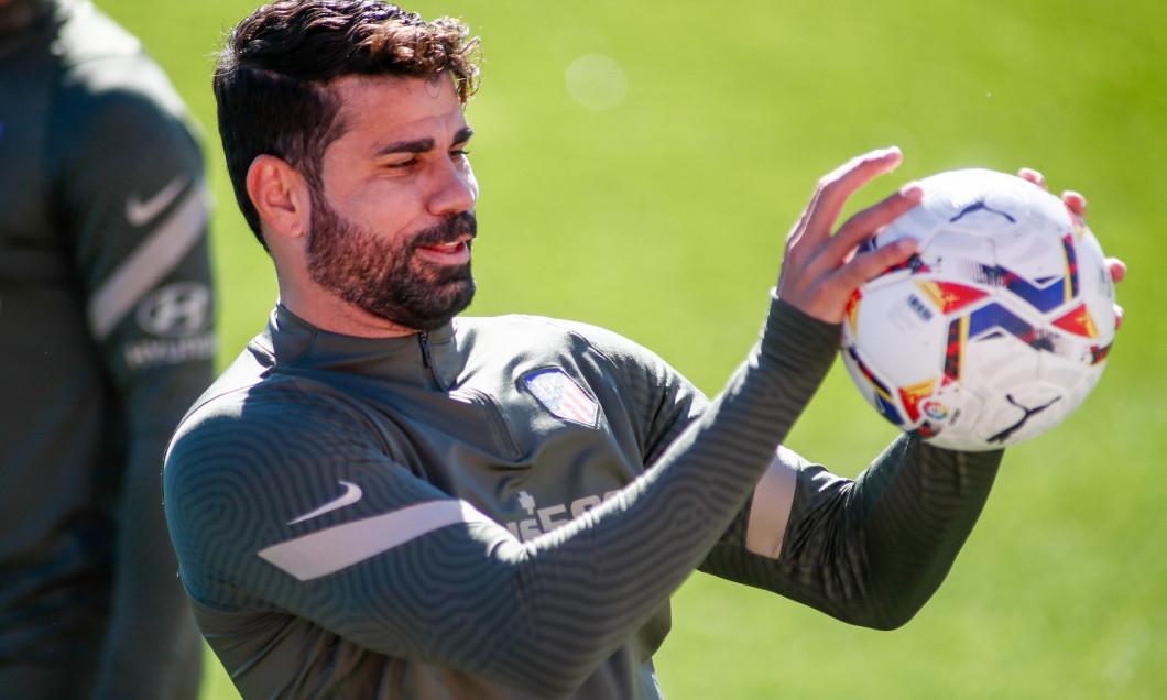 Soccer: At Madrid training session