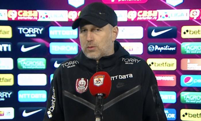 Edi Iordănescu, antrenorul CFR-ului / Foto: Captură Digi Sport