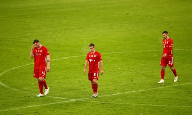 Fotbaliștii lui Bayern, după meciul cu Arminia Bielefeld / Foto: Getty Images