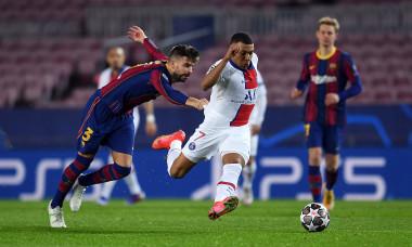 Kylian Mbappe, în meciul cu PSG / Foto: Getty Images