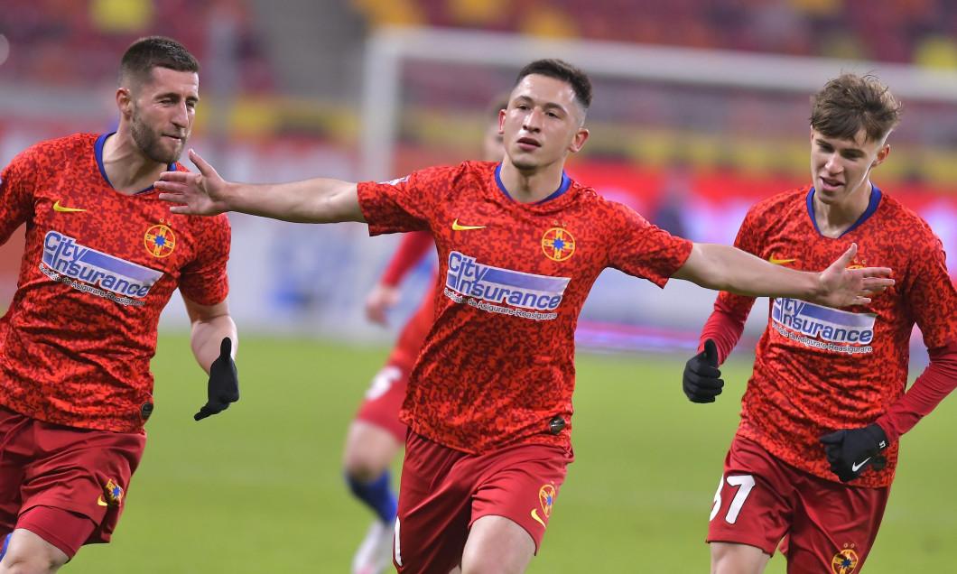 Olimpiu Moruțan, după golul marcat în FCSB - Poli Iași / Foto: Sport Pictures