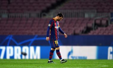 Lionel Messi, în meciul Barcelona - PSG / Foto: Getty Images