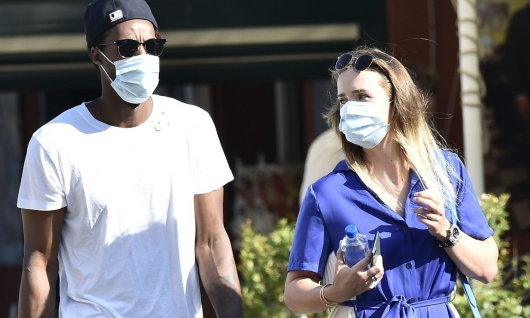 *EXCLUSIVE* Ukrainian tennis player Elina Svitolina with her partner, the French tennis star Gael Monfils take some time off to spend some quality together out on holiday in Portofino.