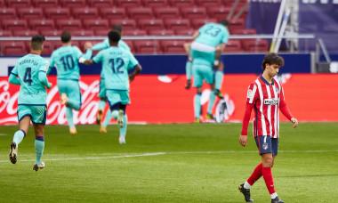 ESP: Atletico de Madrid-Levante UD. La Liga Santander.