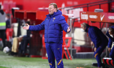 Ronald Koeman, antrenorul Barcelonei / Foto: Getty Images
