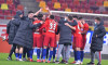 Fotbaliștii și antrenorii de la FCSB, după succesul cu Chindia / Foto: Sport Pictures