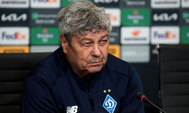 Head coach of FC Dynamo Kyiv Mircea Lucescu gives pre-match news conference, Ukraine - 17 Feb 2021