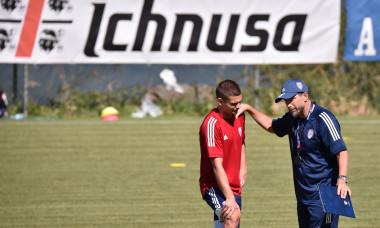 Serie A, ritiro pre campionato del Cagliari ad Aritzo: sessione di allenamento