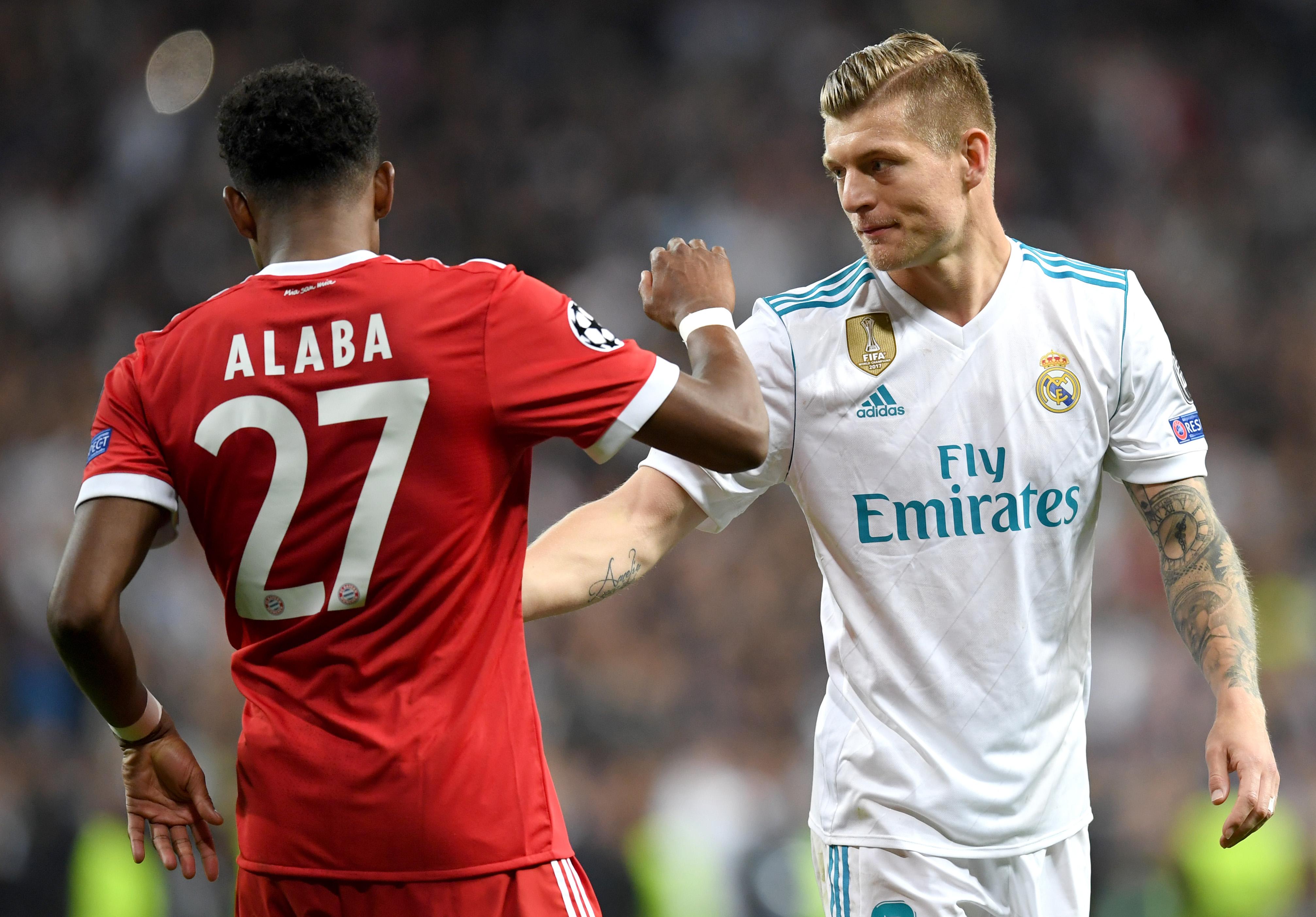 """Un star al luiReal Madridface lobby pentru David Alaba: """"Dacă e titular la Bayern, sigur are calitatea necesară"""""""