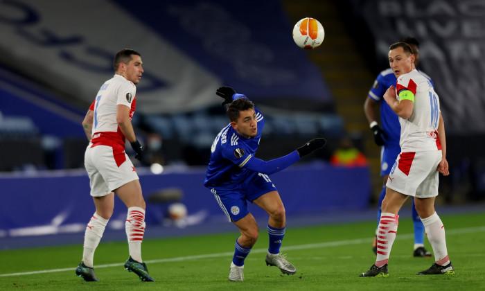 Leicester City v Slavia Praha, UEFA Europa League Round of 32, Football, King Power Stadium, Leicester, UK - 25 Feb 2021