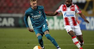 UEFA Europa League, Crvena Zvezda - Milan