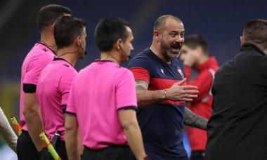 AC Milan v Red Star Belgrade - UEFA Champions League - Round of 32 - 2nd Leg - Giuseppe Meazza