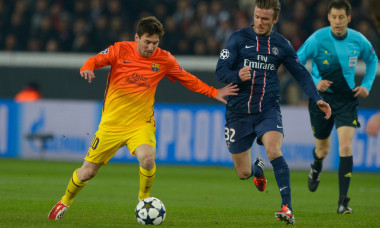 Champion's League 1/4 final soccer match : Paris-St-Germain vs Barcelona