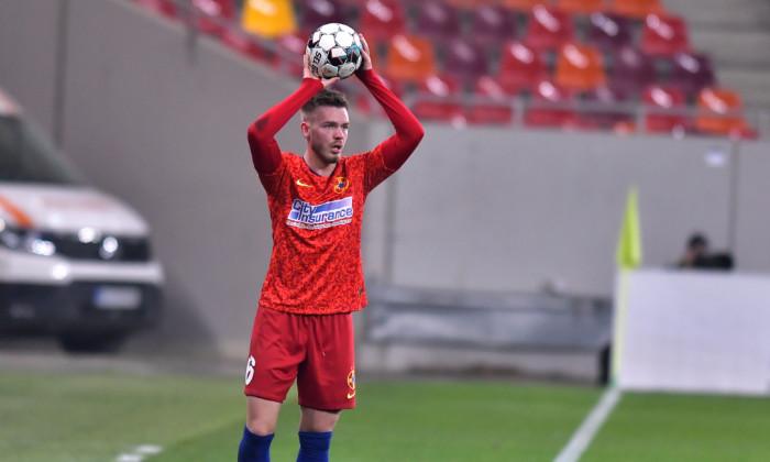 Denis Haruț, fundașul de la FCSB / Foto: Sport Pictures