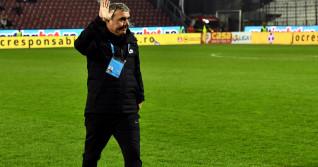 Gheorghe Hagi, în perioada în care antrena la Viitorul / Foto: Sport Pictures