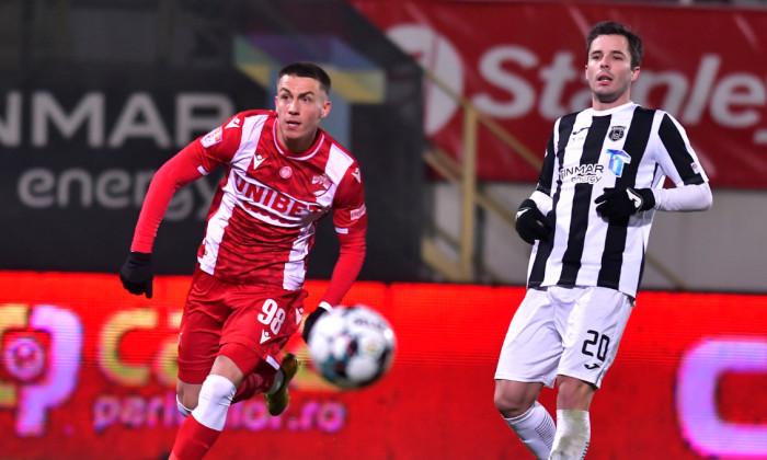 David Bruno și Andreas Mihaiu, în meciul Astra - Dinamo / Foto: Sport Pictures