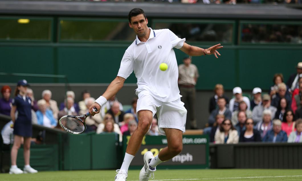 Victor Hănescu, la Wimbledon, în 2013 / Foto: Getty Images