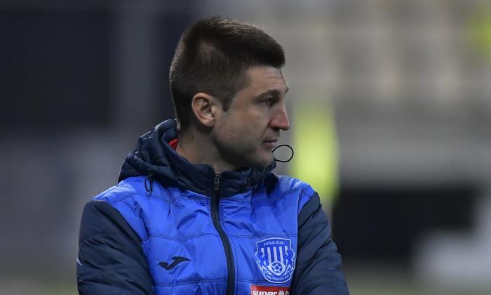 Andrei Cristea, în timpul meciului Petrolul Ploiești - Poli Iași / Foto: Sport Pictures