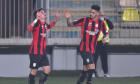 George Merloi, după golul marcat în Petrolul - Astra / Foto: Sport Pictures