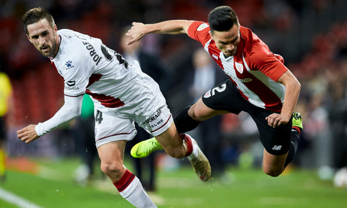 LA LIGA: Athletic Club Bilbao and S.D Huesca. Copa del Rey.