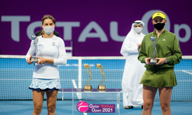 ATP Qatar Total Open 2021, Tennis, Khalifa International Tennis and Squash Complex, Doha, Qatar - 05 Mar 2021