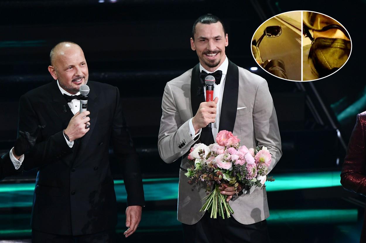 """""""Soția nu m-a crezut!"""" Ce i-a cerut Zlatan motociclistului pe care l-a oprit în trafic ca să-l ducă la Sanremo: """"I-am zis nu"""""""