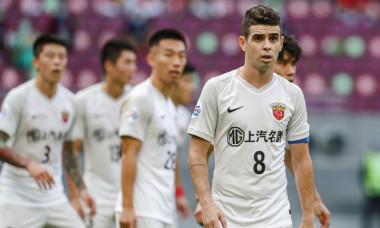 Oscar, în tricoul celor de la Shanghai / Foto: Profimedia