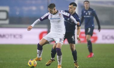 Louis Munteanu, într-un meci Fiorentina vs. Atalanta, Supercupa Primavera/ Foto: Profimedia