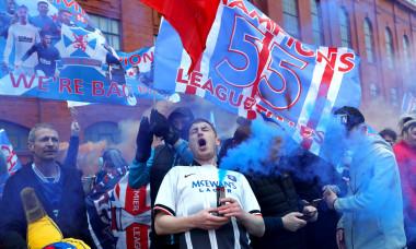 Rangers fans - Ibrox Stadium