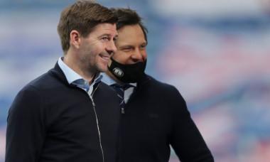 Steven Gerrard, după meciul cu St Mirren / Foto: Profimedia