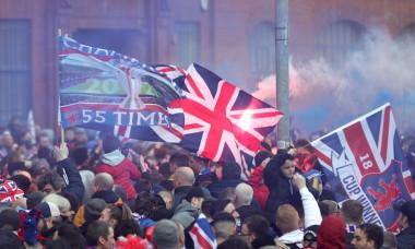 Rangers Title Celebrations, Scottish Premiership, Glasgow, Scotland, UK - 07 Mar 2021