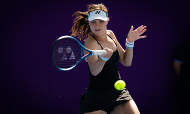 ATP Qatar Total Open 2021, Tennis, Khalifa International Tennis and Squash Complex, Doha, Qatar - 27 Feb 2021